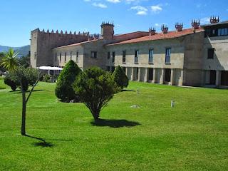 Parador of Baiona in Galicia