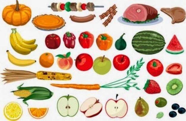 Versos con rimas y cuentos para niños: Frutas y verduras