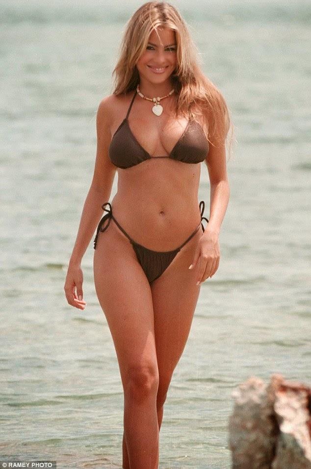 Sofia Vergara - 1998 swimsuit photoshoot in Miami -RETRO-   Angels In ...