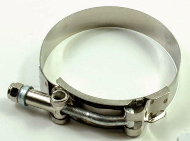 Topsound performance t bolt clamp for intercooler and