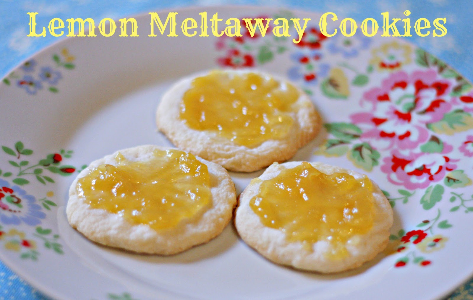 antidote in the form of lemon was lemon meltaway cookies