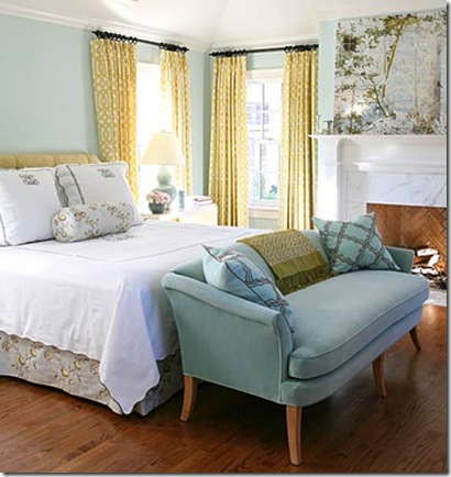 cottage blue designs blue and yellow rooms