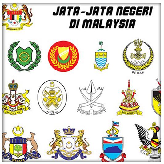 Free Vector : Peta Malaysia dan Jata Negeri   Bighandesign - Perkongsian Percuma Vector dan Info ...