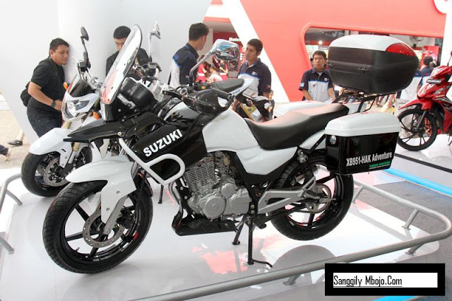 2011 New Suzuki Thunder 125 Stylish Bike Adventure