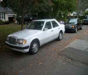 Just a car geek 1992 mercedes benz 400e the best of the for 1992 mercedes benz 400e