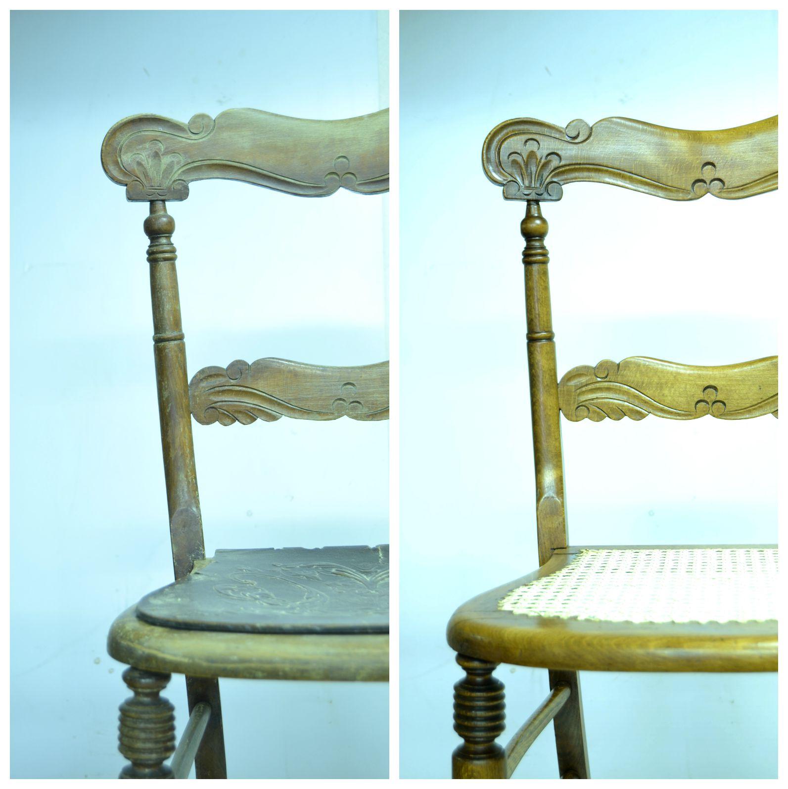 Restauraci n antig edades murcia restaurar una silla antigua - Restaurar sillas antiguas ...
