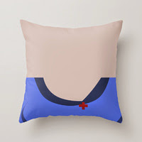 Nurse Christine Chapel Star Trek The Original Series Pillow