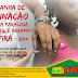 Campanha de vacinação contra paralisia infantil e sarampo em Ipirá - 2014