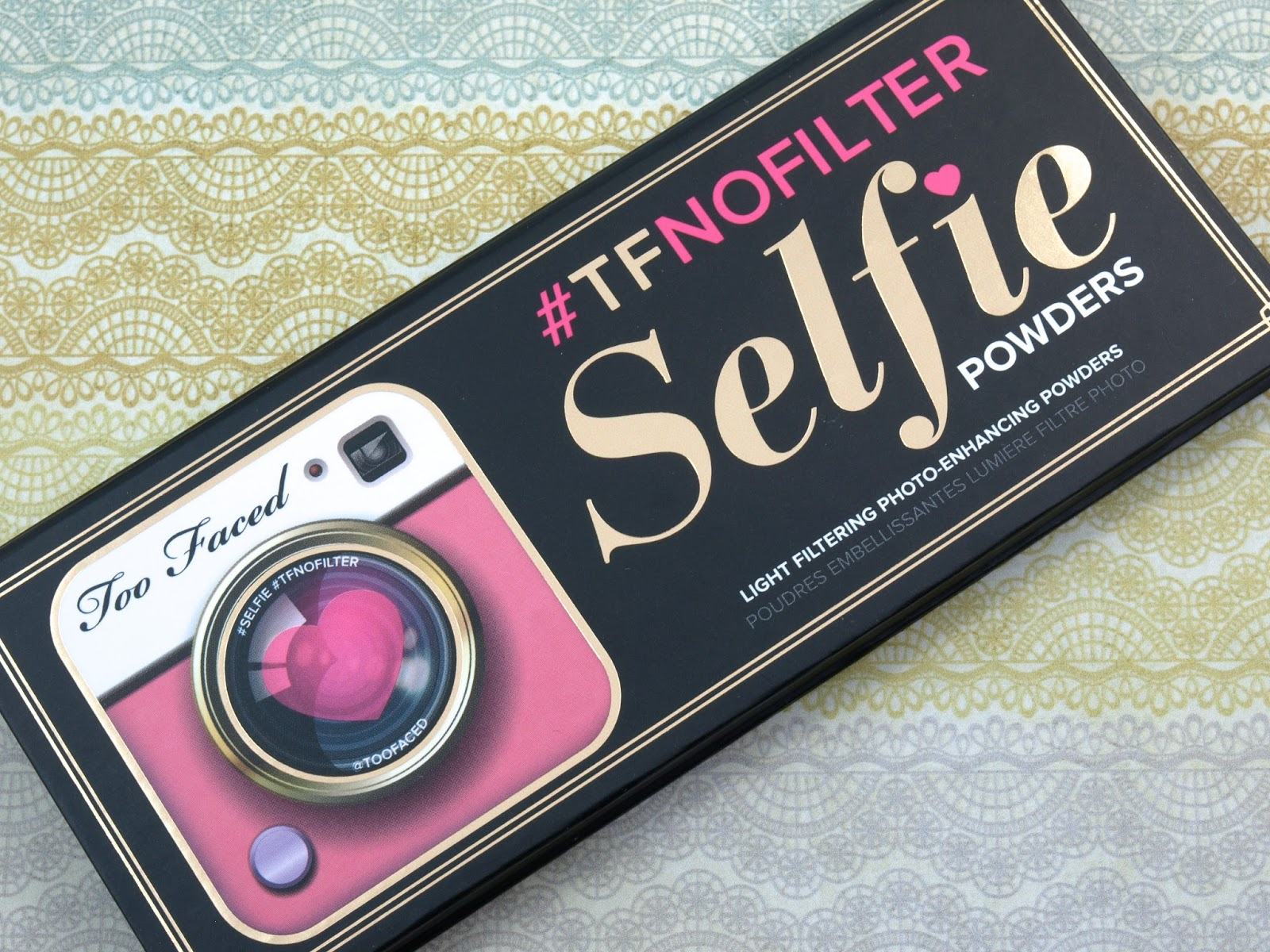 Too Faced #TFNofilter Selfie Powders Light Filtering Photo-Enhancing Powders: Review and Swatches