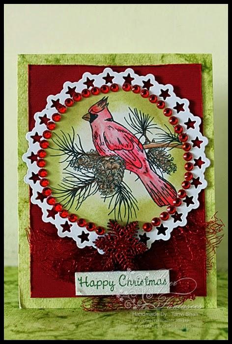 DRS designs digi christmas card