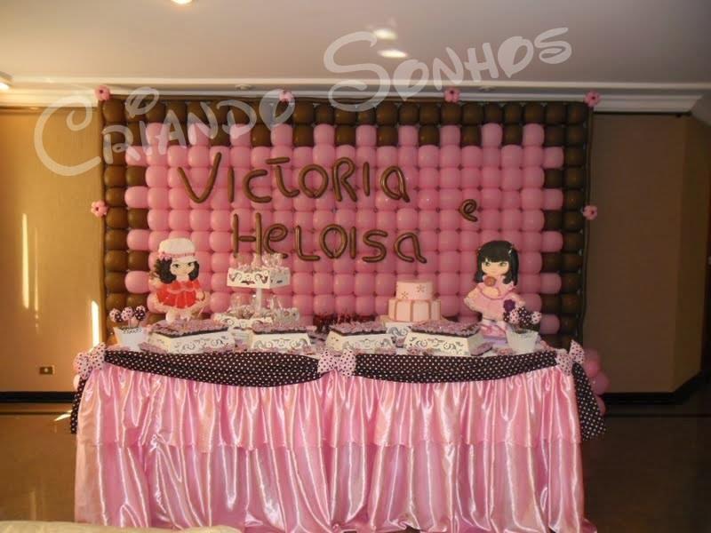 Jolie marrom e rosa