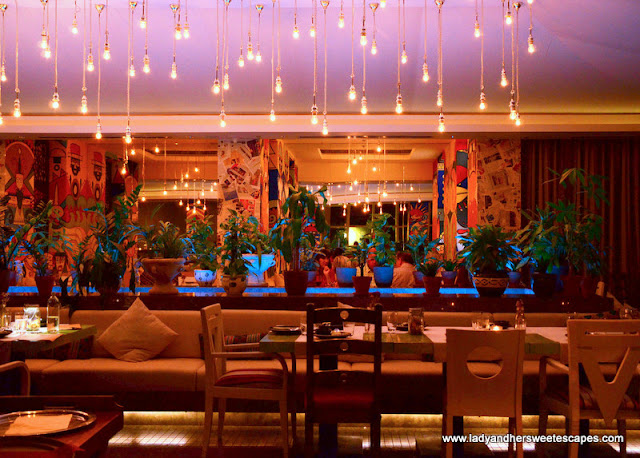 Garden: Peruvian restaurant at JW Marriot Marquis