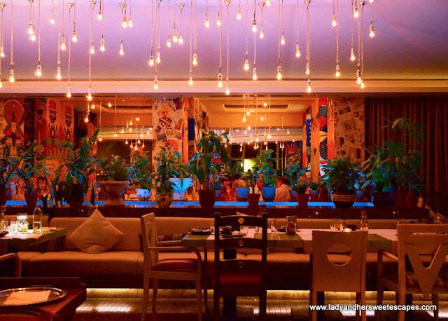 Garden: Peruvian restaurant at JW Marriot Marquis