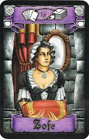Imagen doncella Juego mesa Palastgefluster (Palast o Intrigas de palacio)