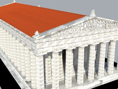 Στην οροφή του Παρθενώνα έκρυβαν τους θησαυρούς οι Αθηναίοι