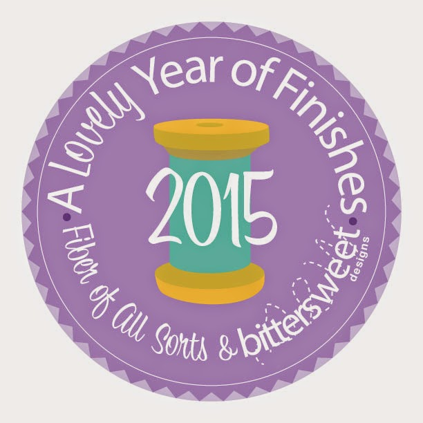 A Lovely Year of Finishes - January 2015 Finishes Party