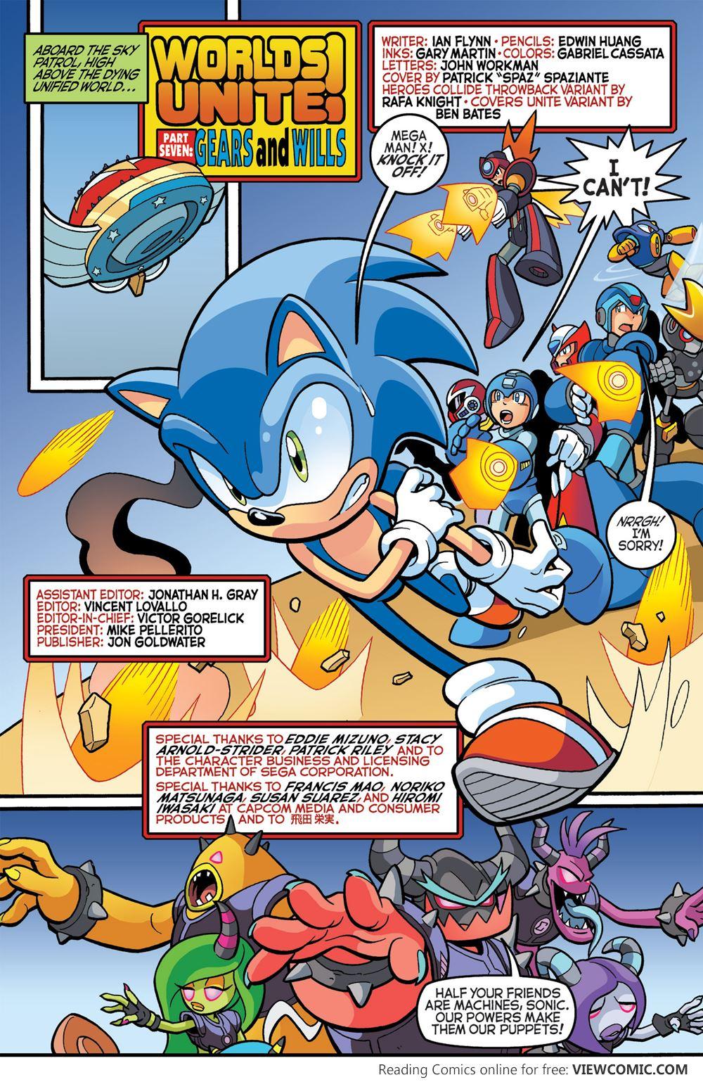 sonic the hedgehog 274 2015 viewcomic reading comics