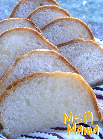 basic white bread machine