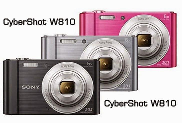 Harga & Spesifikasi Kamera Sony CyberShot W810 20 MP
