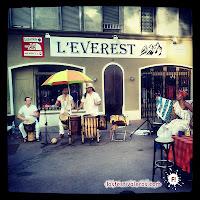 Natoo en la terraza de Le Péry #culturebarbars #rioloco