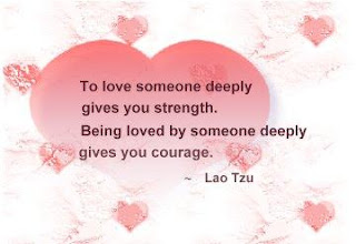 love someone deeply muah quota and saying
