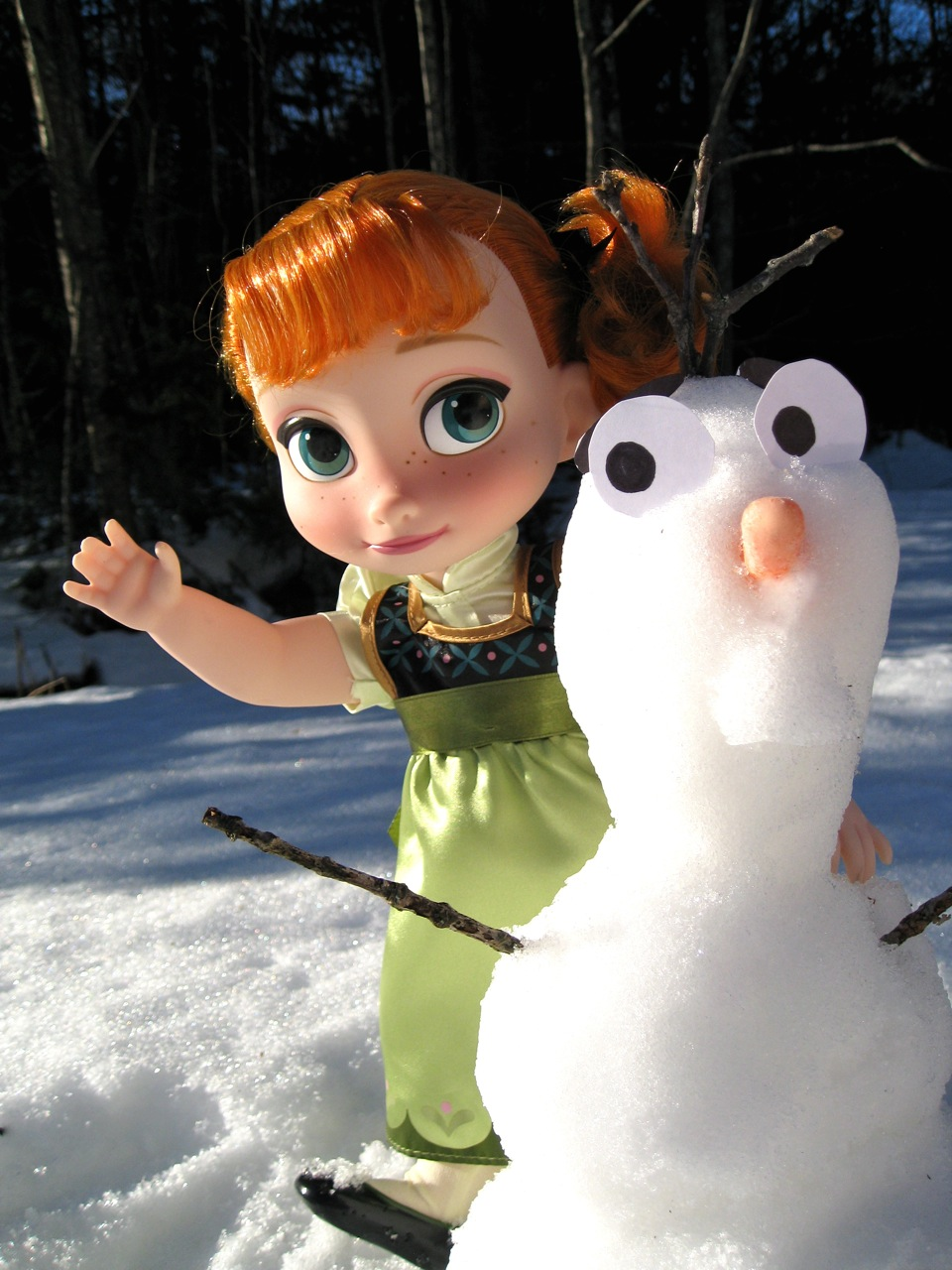 Animators' Anna from Frozen