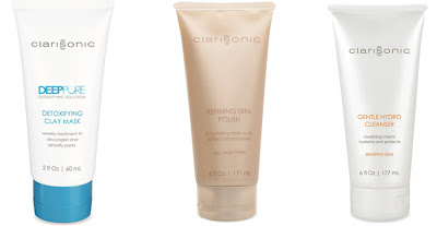 Clarisonic, Clarisonic Prize Pack, Clarisonic Deep Pore Detoxifying Clay Mask, Clarisonic Gentle Hydro Cleanser, Clarisonic Refining Skin Polish, skin, skincare, skin care, giveaway, beauty giveaway, A Month of Beautiful Giveaways, face mask, exfoliator, face scrub, cleanser