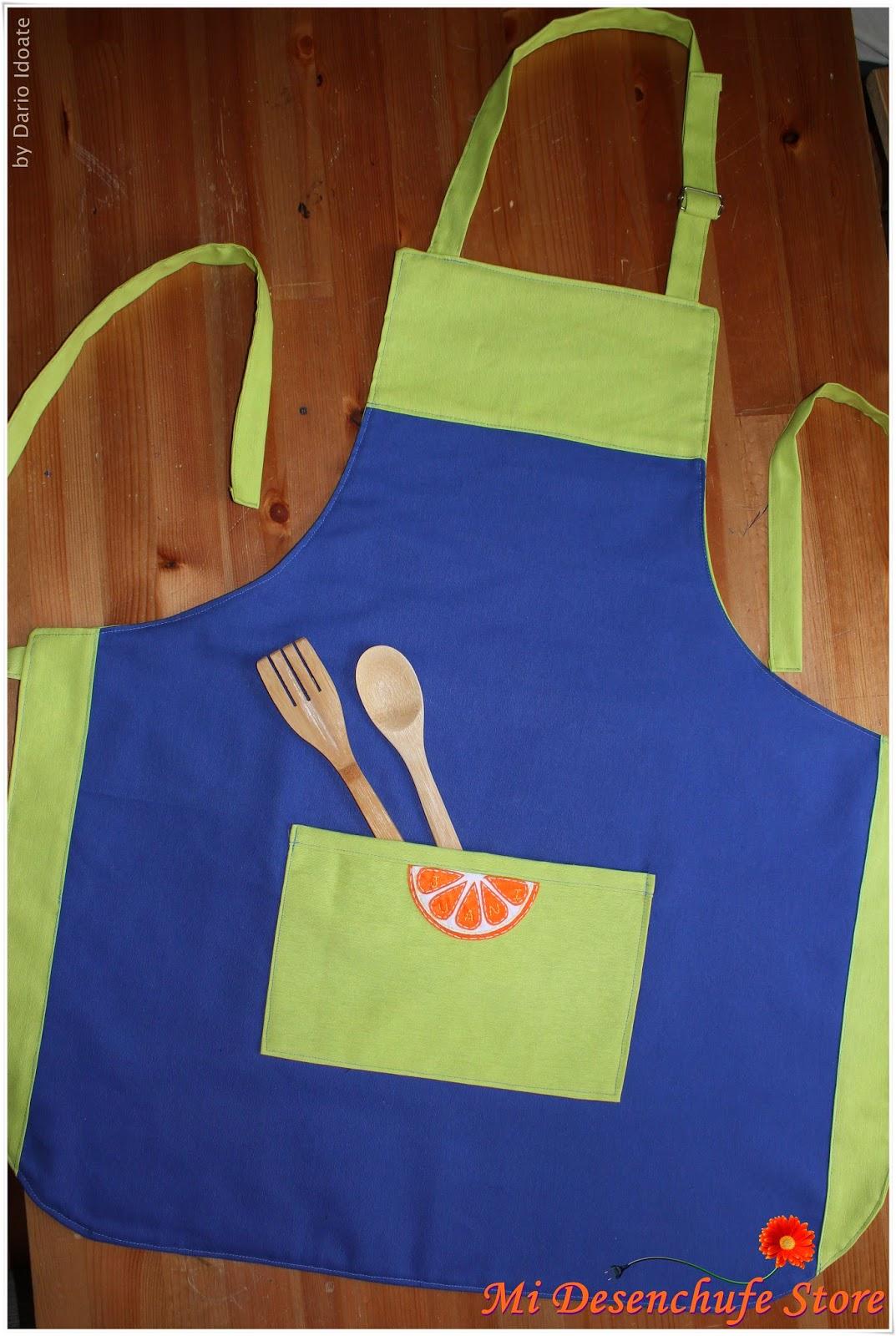 Mi desenchufe store delantal cocina va de frutas - Modelos de delantales de cocina ...