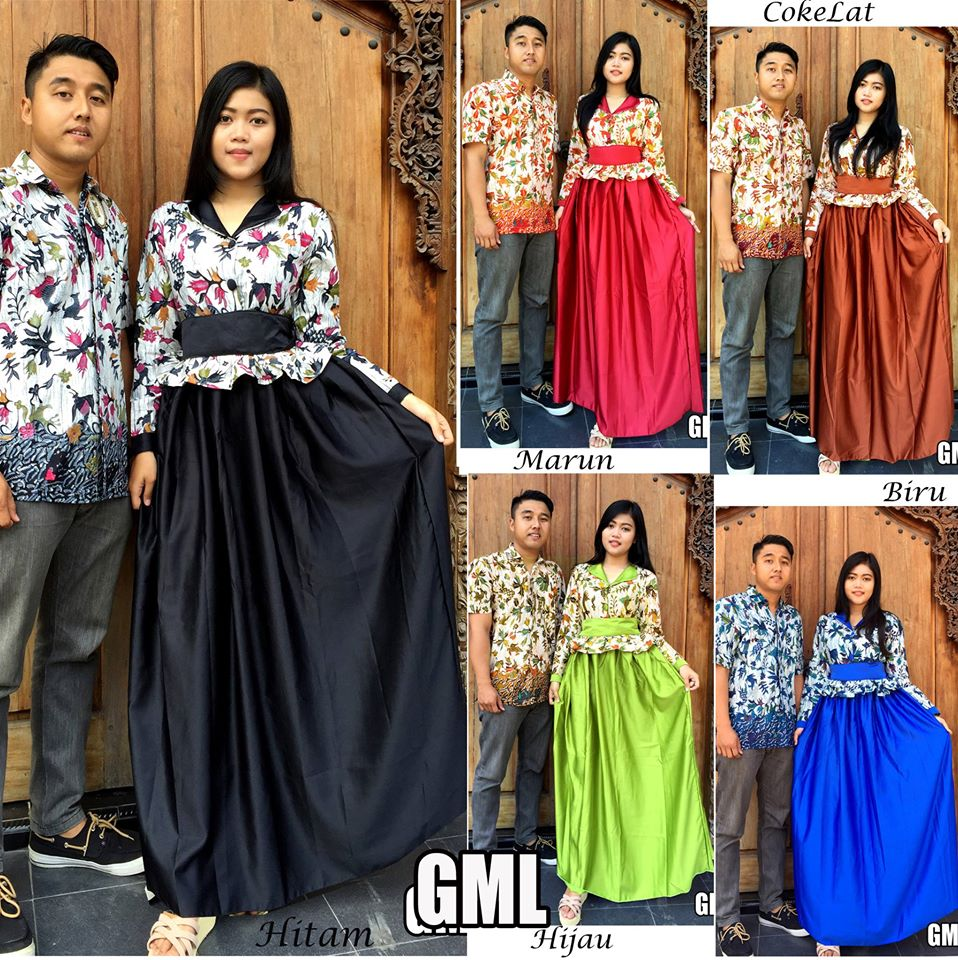Model Baju Batik Couple 2016