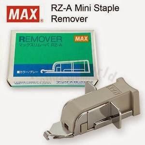 remover stapler max