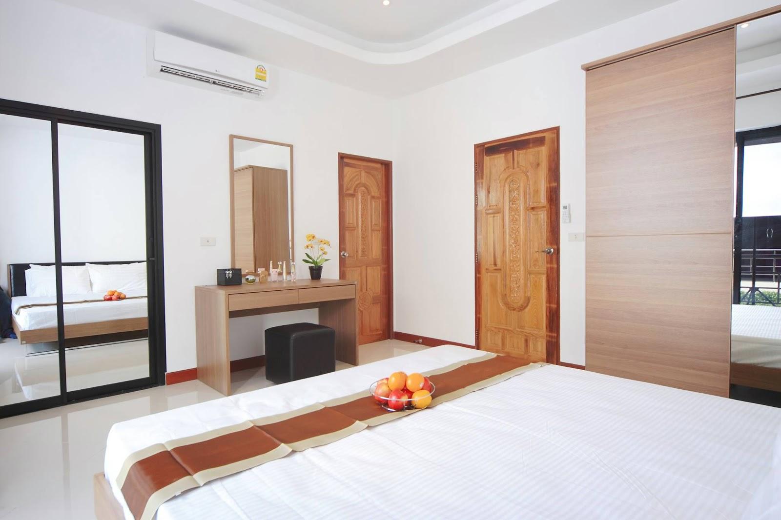 Vi bygger hus i chackpong ban phe: hyr bostad på thai panorama resort
