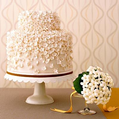 White Wedding Cakes With Flowers. bliss : white wedding cakes