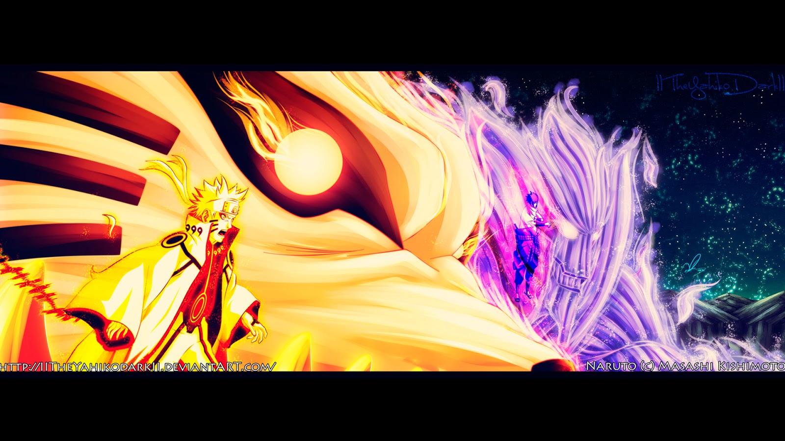 naruto-kyubi-sage-mode-sasuke-susanoo-mode-by iitheyahikodarkii    Sage Mode And Kyuubi Mode