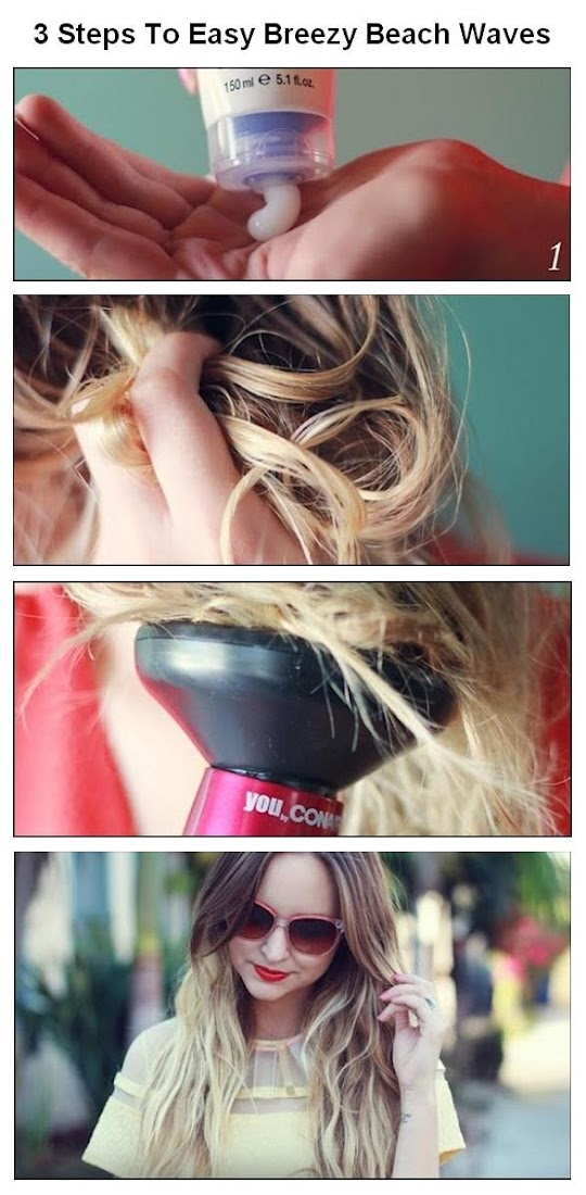 3 Steps To Easy Breezy Beach Waves