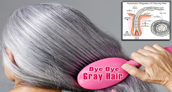 GoodBye to Gray Hair! Here is a Powerful Remedy to Reverse Gray Hair at Home