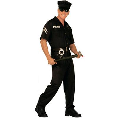 Fantasias de Carnaval Masculino policial