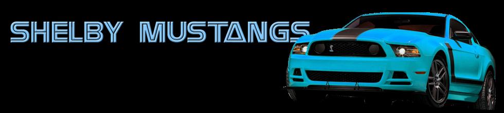 Shelby Mustangs
