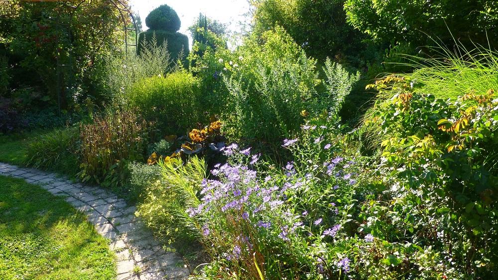 Le jardin de brigitte alsace en ce d but d 39 ao t - Les jardins d alsace ...