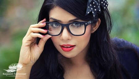 Bangladeshi model and actress Nawshaba