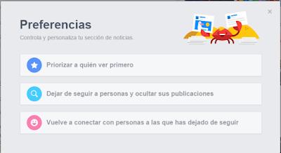 Personalizar Inicio Facebook