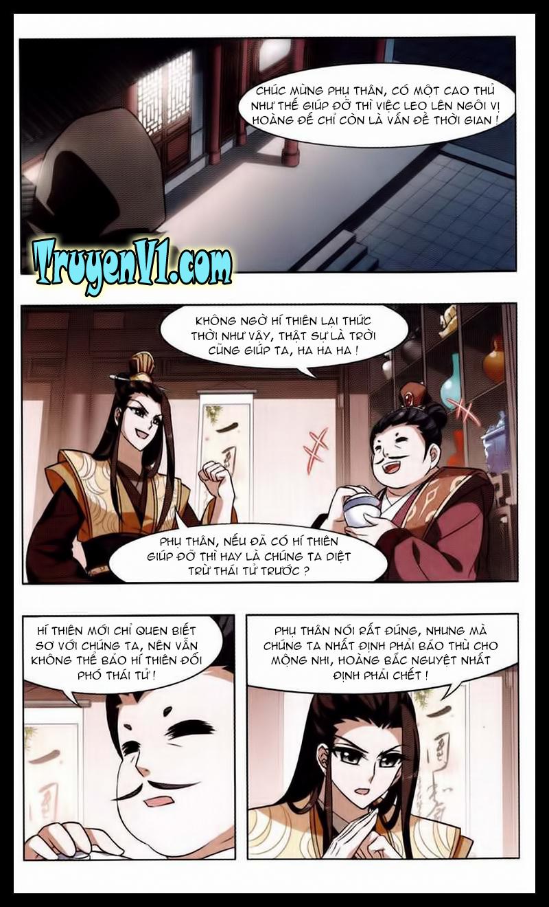 Phượng Nghịch Thiên Hạ Chap 23