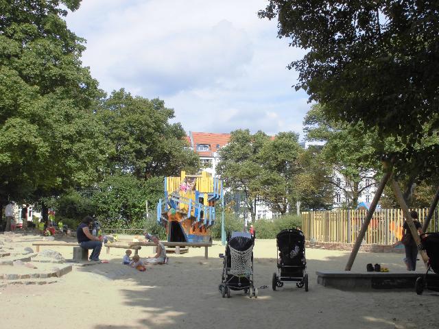 Expat Mummy In Berlin Playground At Helmholtzplatz