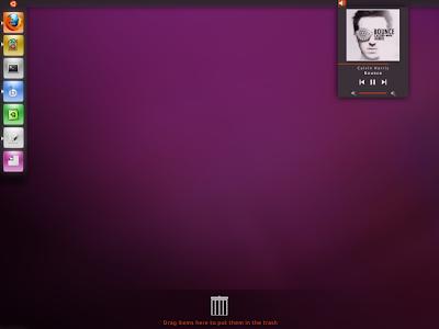 Ubuntu Unity Desktop Concept