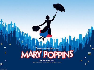 The skyline I remember most is the background for Mary Poppins~