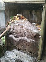 Compostador de palets, compostera, compost, enredandonogaraxe