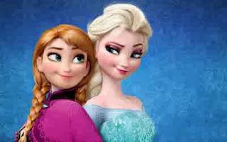 Gambar Elsa dan Anna Frozen wallpaper 1