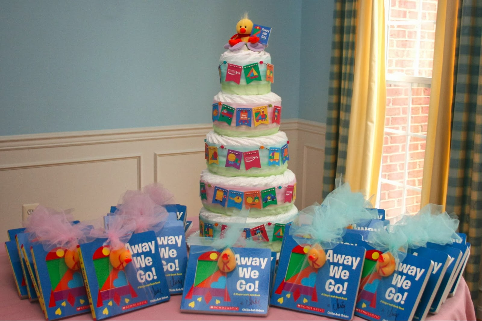 what do you write in a book for a baby shower just b cause