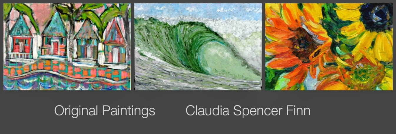 Claudia Finn ~ In and Out of the Studio