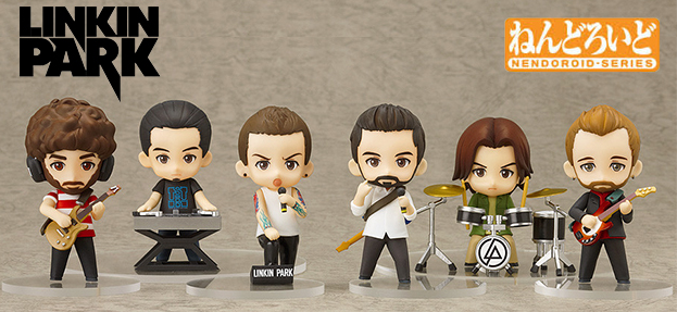 Linkin Park Nendoroid Boneco