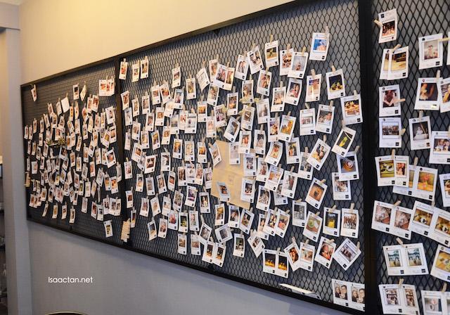 P.S. Tokyo's very unique Instagram wall